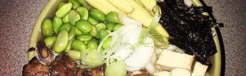 Vegan Ramen style noodle bowl: Cook with me.