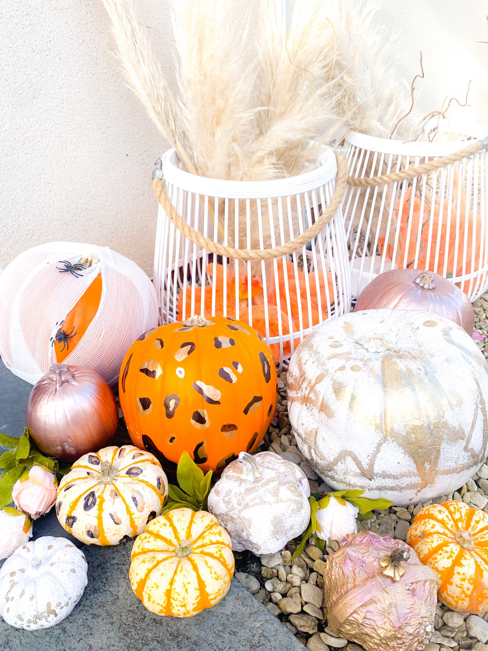 5 easy carve free pumpkin ideas