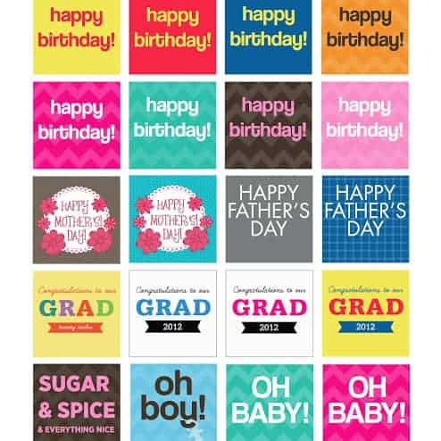 FREEBIES  //  CUPCAKE TOPPERS