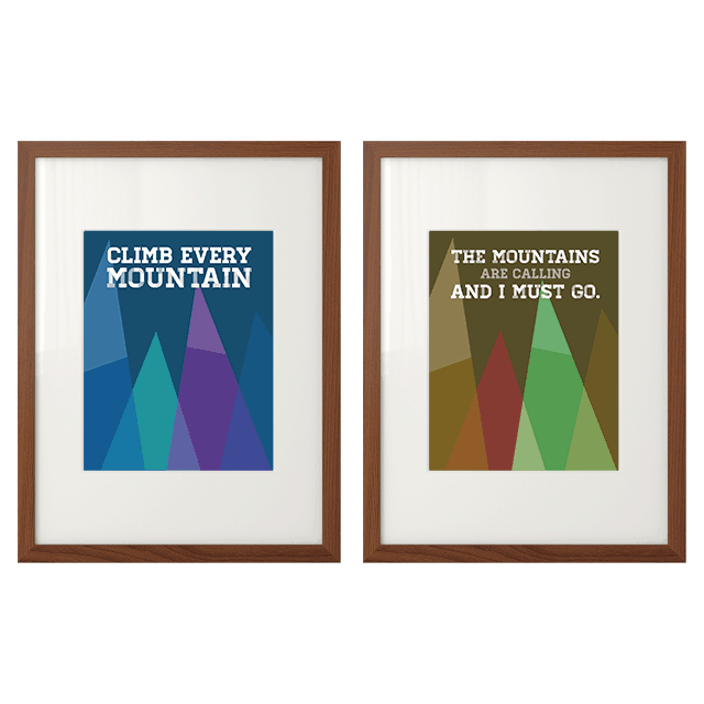 FREEBIES  //  A LOVELY 'LIL VACAY + FREE MOUNTAIN PRINTABLES