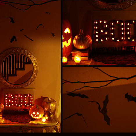 DIY //   HALLOWEEN MARQUEE FEATURED