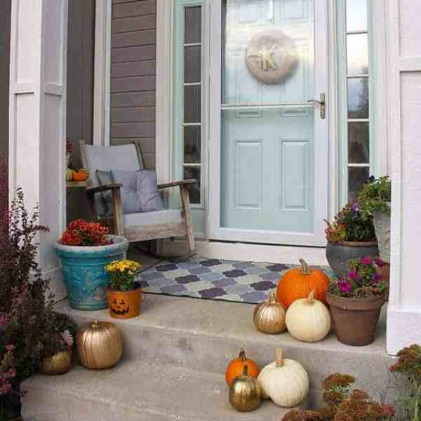 DIY  // FALL PORCH