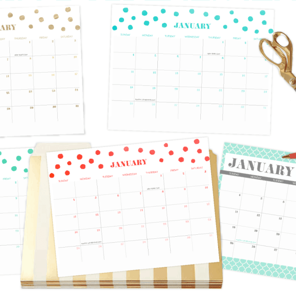 FREEBIES  //    2015 CALENDARS