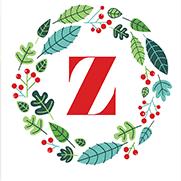 FREEBIES // A-Z MONOGRAM HOLIDAY WREATHS