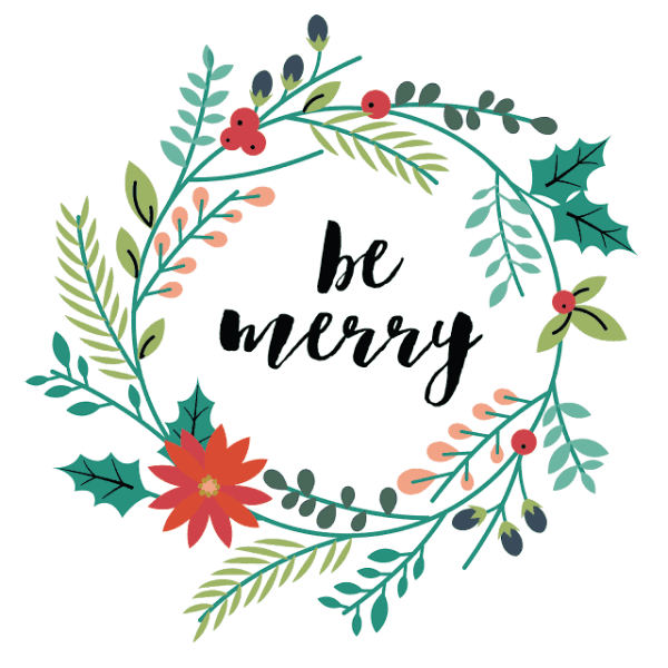 FREEBIE  //  BE MERRY