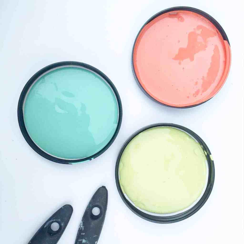 Dixie Belle chalk paint - the gulf, flamingo, limeade