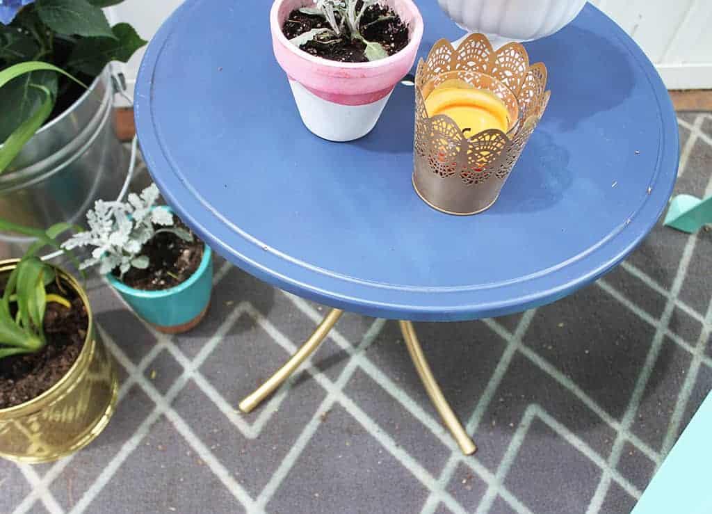 DIY side table update