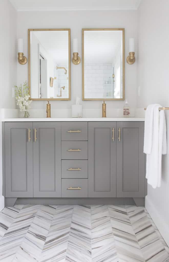 Affordable DIY Guest Bathroom Remodel And Inspiration - Guest bathroom renovation