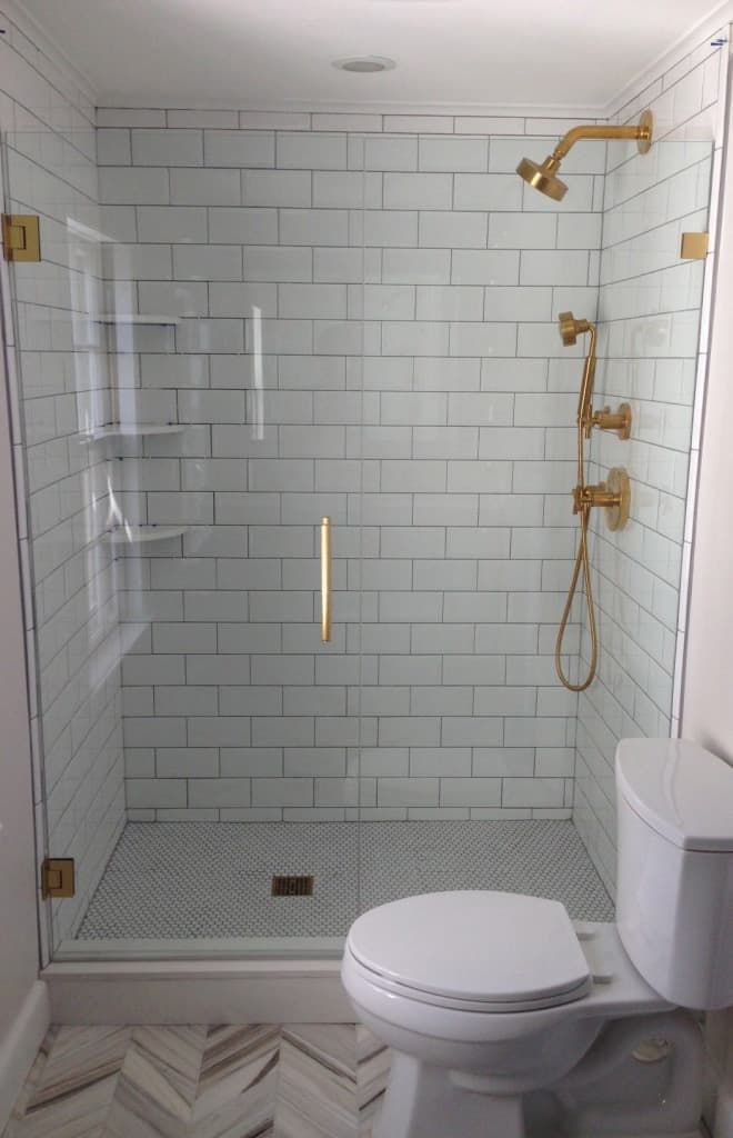 affordable diy guest bathroom remodel and inspiration