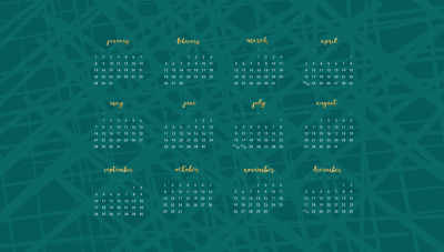 Free 2017 desktop wallpaper calendars