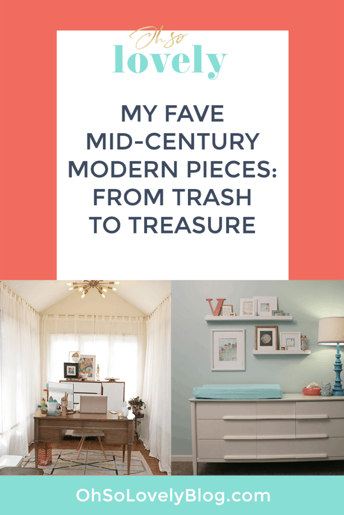 TRASH TO TREASURE // MY FAVORITE FURNITURE PIECES