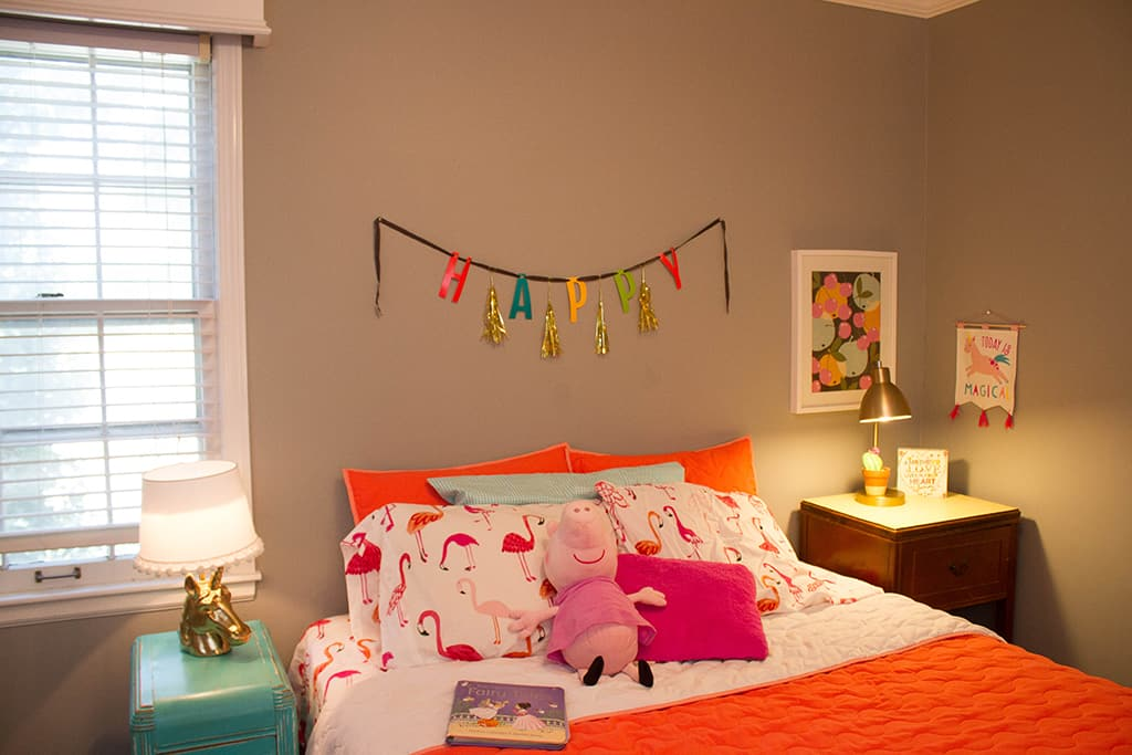 toddler bedroom. Oh So Lovely blog takes you on a toddler home tour bedroom and two Toddler play spaces  full of color character