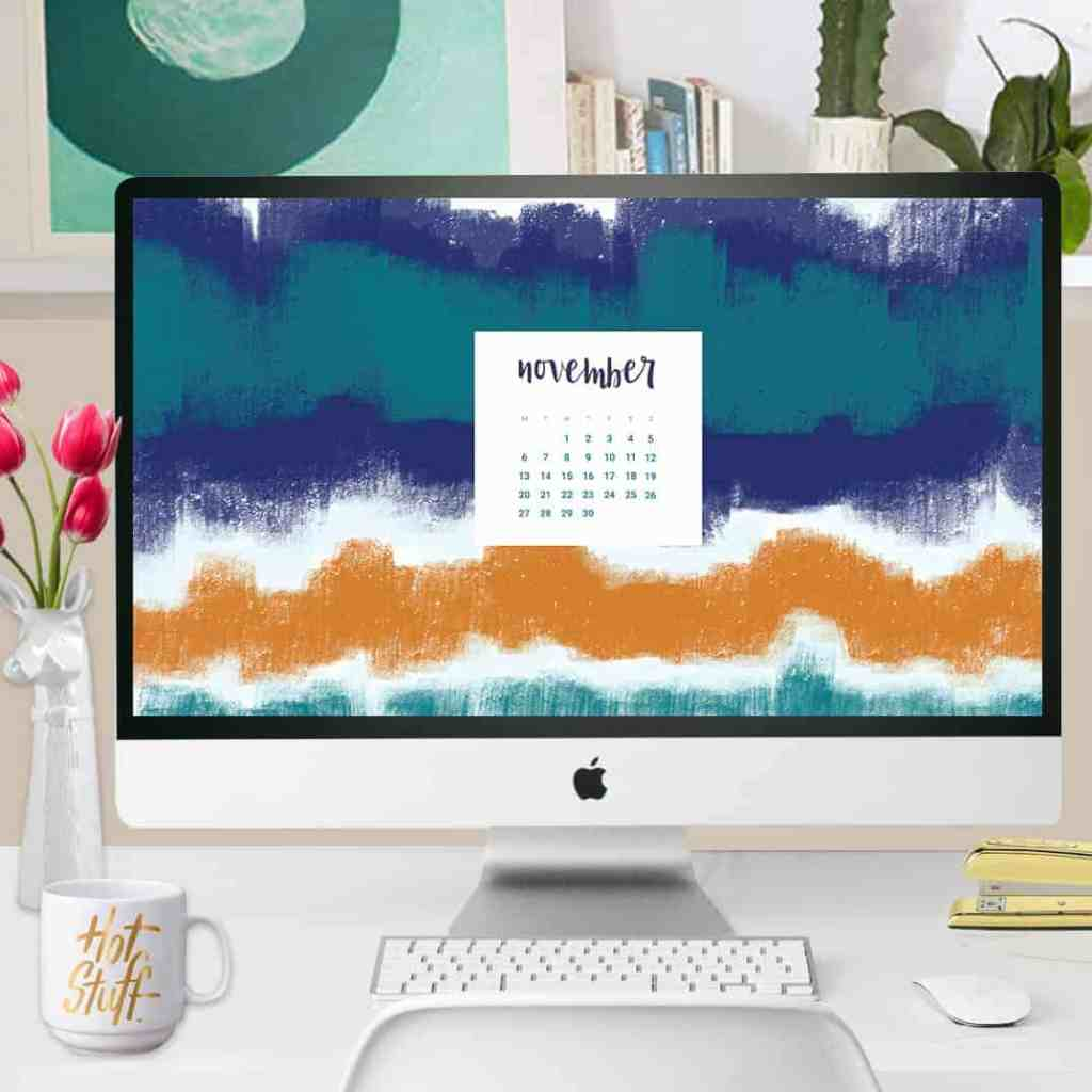 FREEBIES  //  NOVEMBER DESKTOP CALENDAR WALLPAPERS