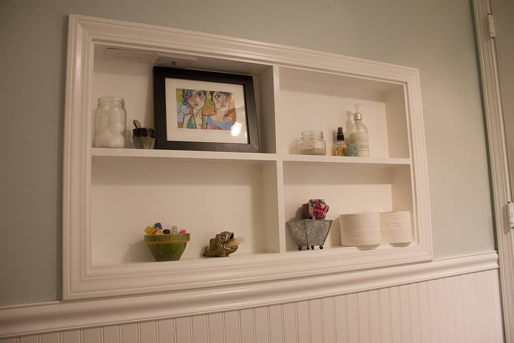 Join Audrey Of Oh So Lovely Blog On A Quick And Affordable In Process Tour Of Her Half Bathroom