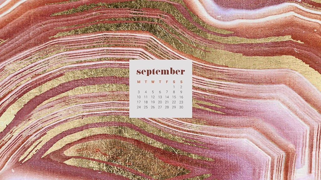 FREEBIES // SEPTEMBER DESKTOP WALLPAPER CALENDARS