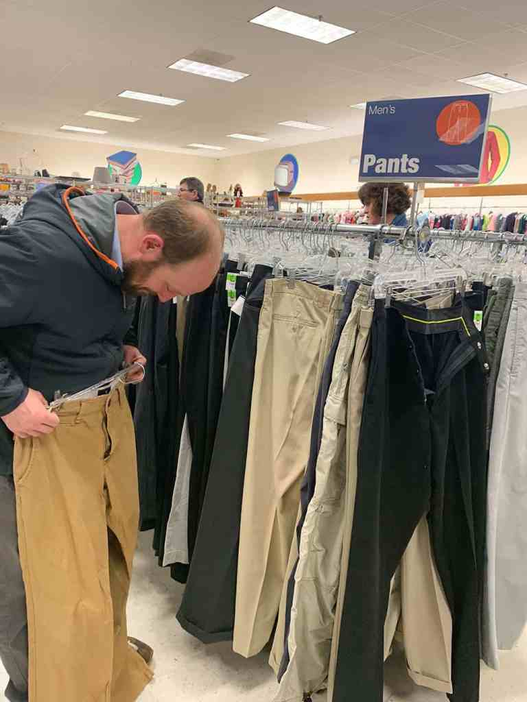 Goodwill date night challenge