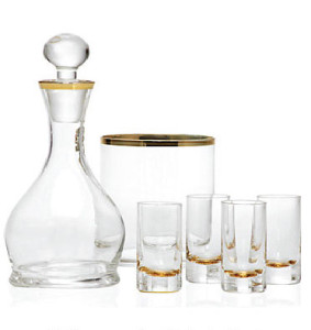 Cheers Drink set Gold outlining