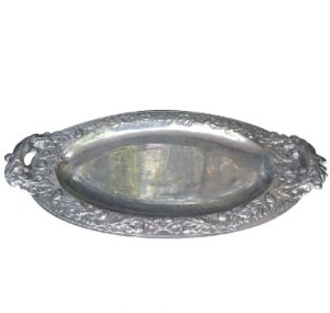 Silver Plated Tray Antique