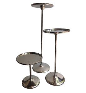 Silver Metal Stands Sticks