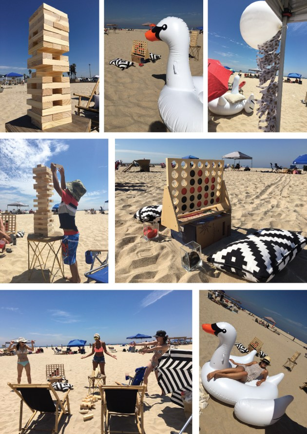 5.beach party games