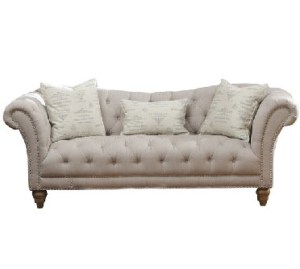 Tufted sofa couch settee lounge furniture