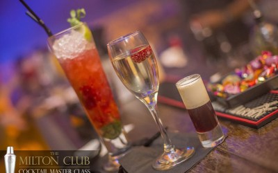 Cocktails at The Milton Club, Manchester