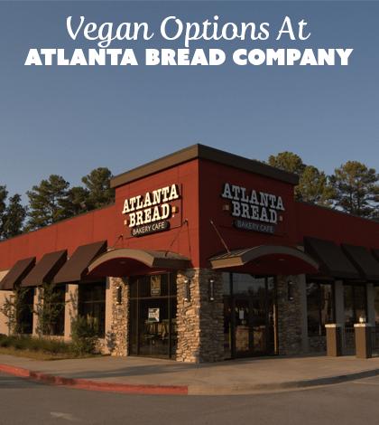 Restaurants With Vegan Options: The Atlanta Bread Company