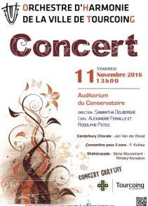 Affiche Concert du 11 Novembre 2016