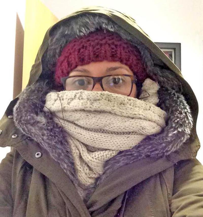 Um dia frio em Berlim