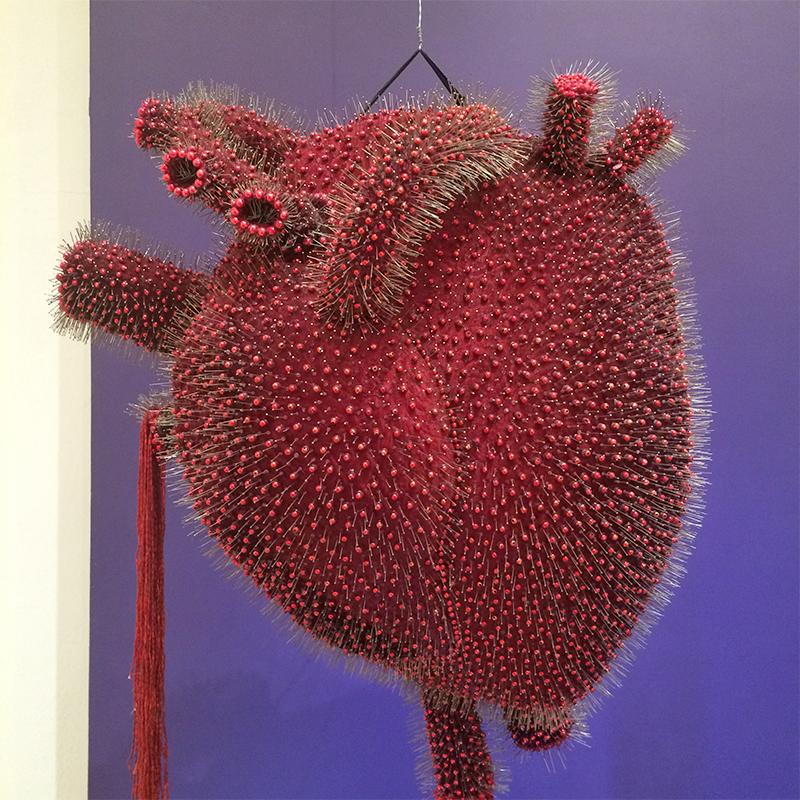 Coração no Museu Frida Kahlo