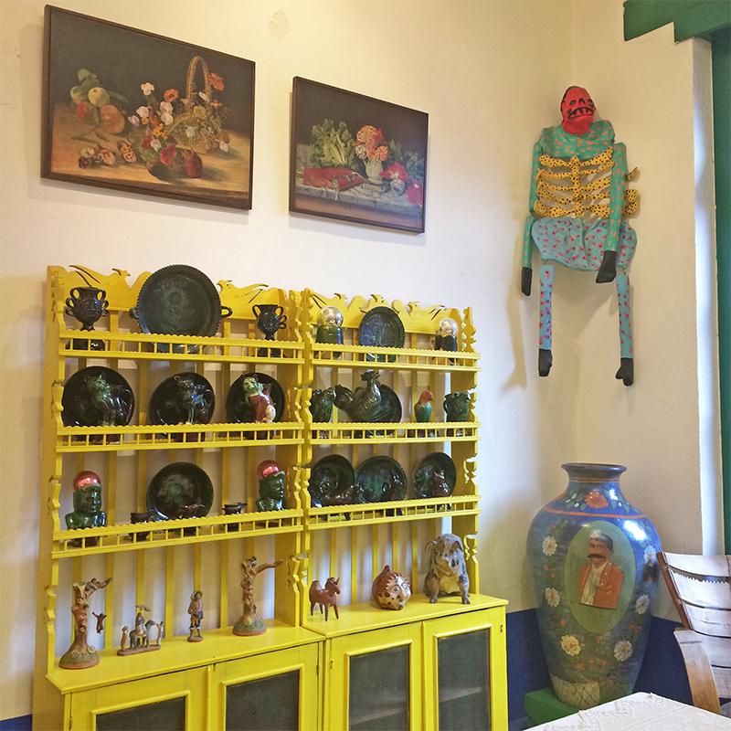 Móveis da cozinha da Frida Kahlo