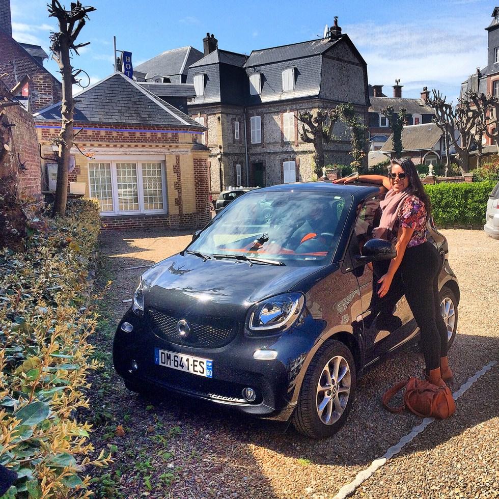 Carro na Normandia