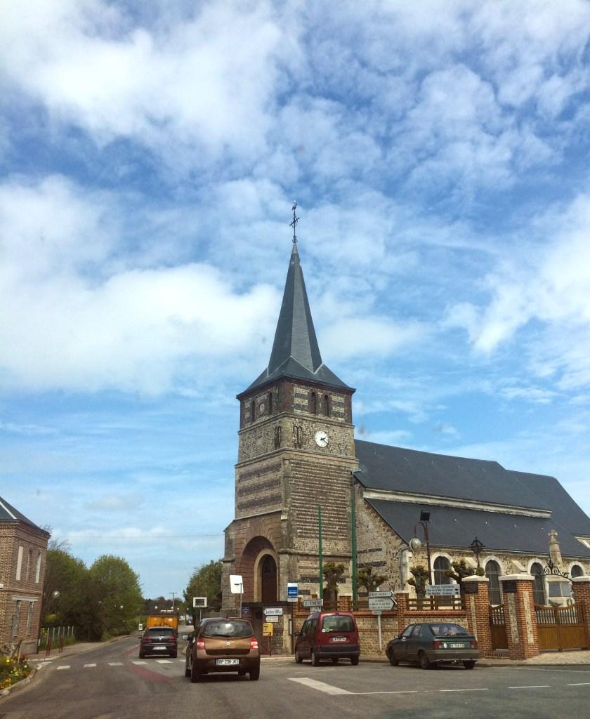 Igreja em Étretat