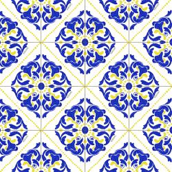 Estampa Azulejos Portugueses - Oh, Thaís!