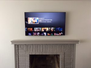 fireplace tv mount baltimore