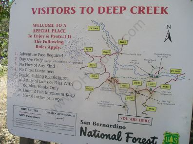Deep Creak Map