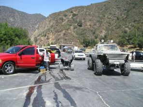Staging Area Parking Lot