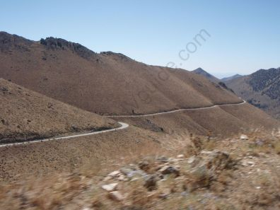 Road from the 395 to Kennedy Meadows