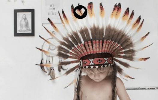 Kleine indiaantjes…