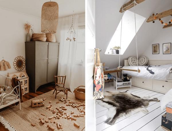 houten vloeren in de kinderkamer