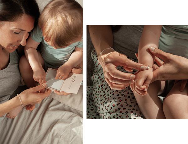 moeder en kind sieraden