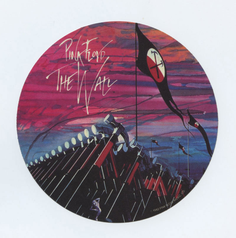 Pink Floyd Sticker 1982 The Wall Album Promotion Vintage