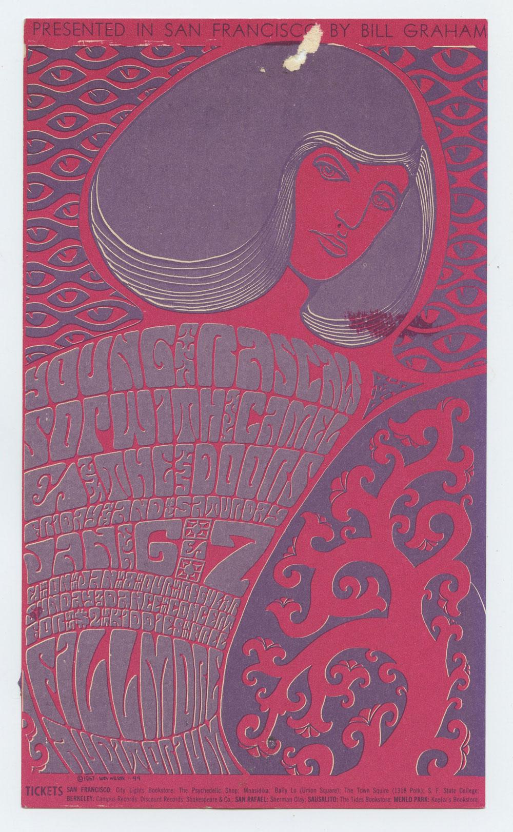 Bill Graham 44 Handbill Condition Very Fine