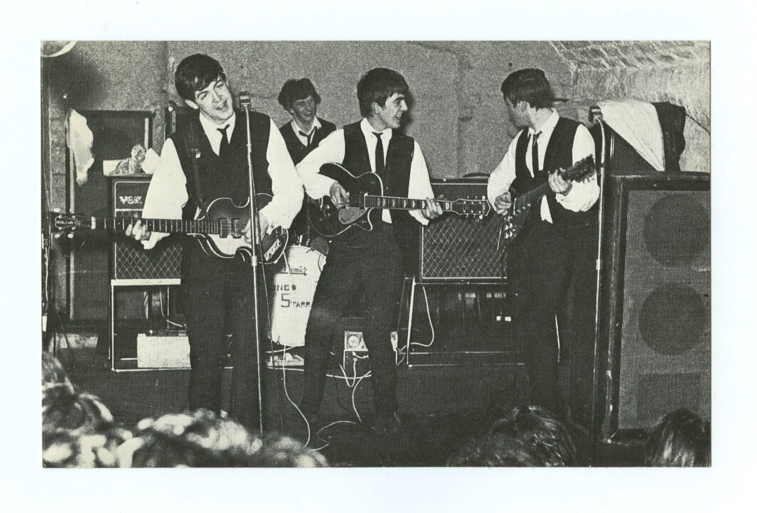 The Beatles Postcard One of Ringo's First Appearance at the Cavern Club 1962