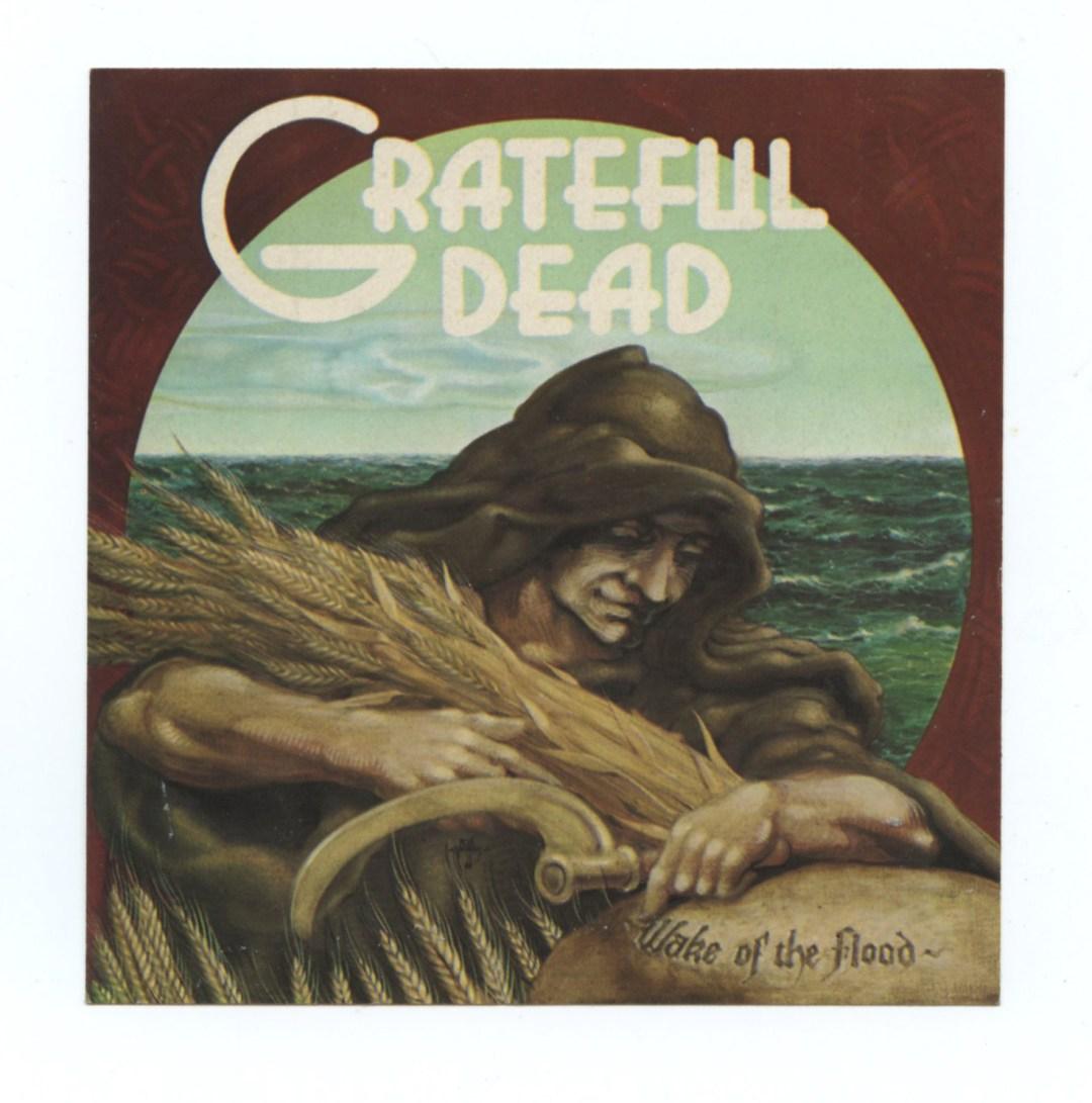 Grateful Dead Sticker 1973 Wake of the Flood Promo Rick Griffin