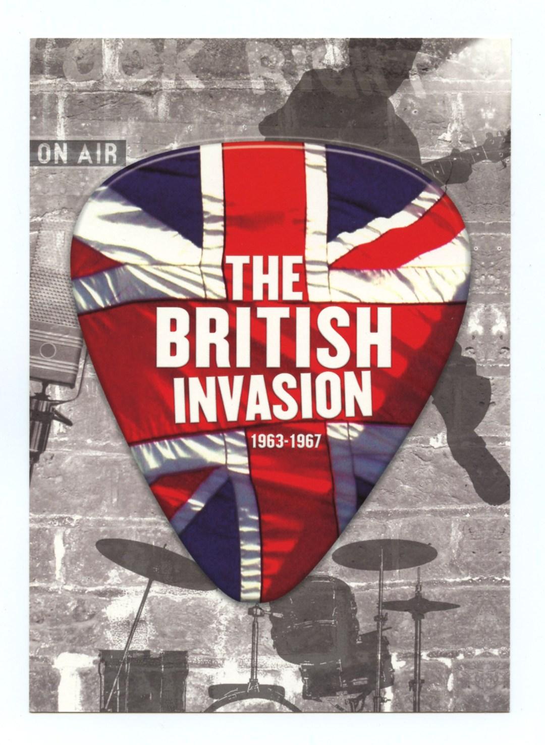 The Best of British Invasion Sticker