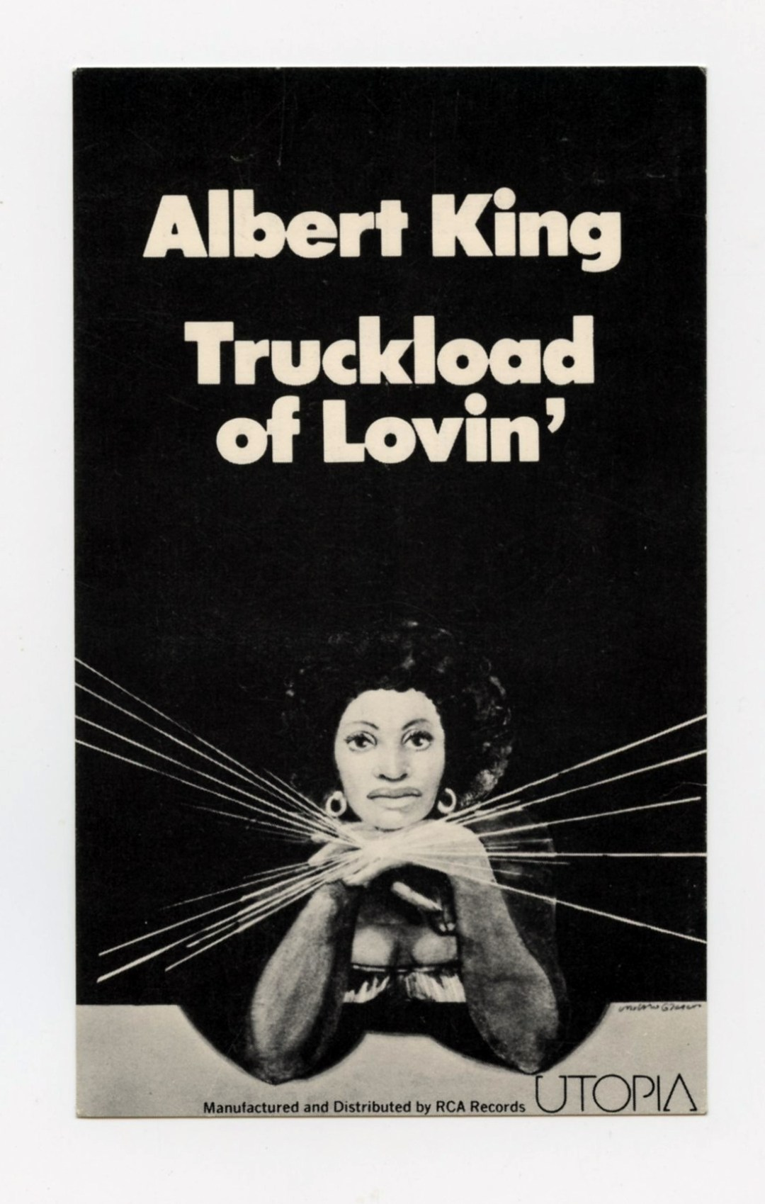 Albert King Flyer 1976 Truckload of Lovin Album Promo