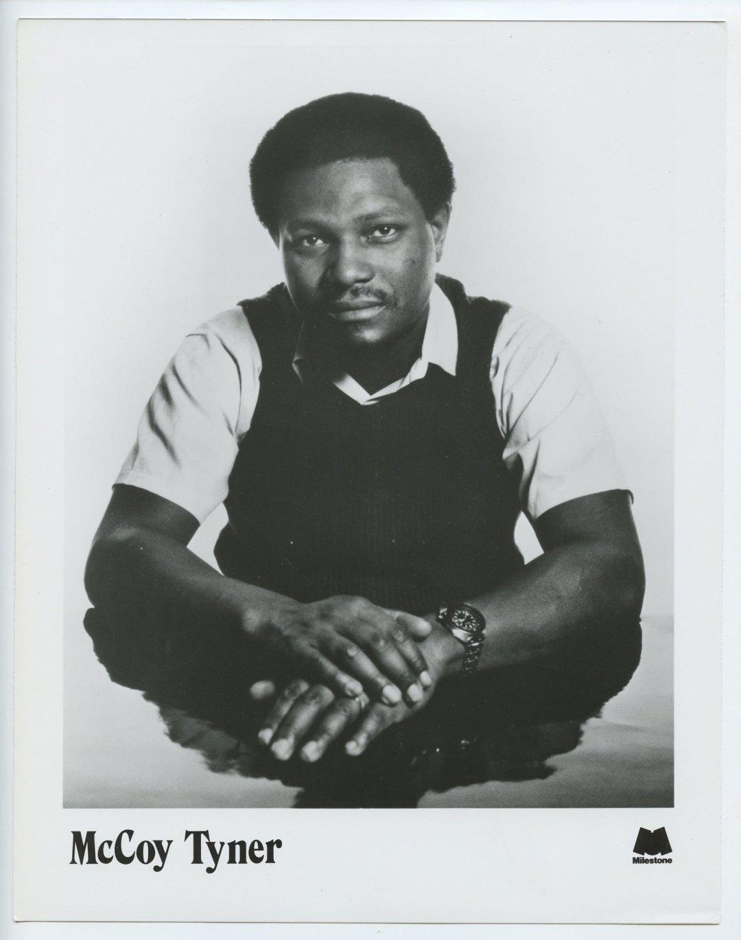 McCoy Tyner Photo Milestone Records 1975 Original Vintage