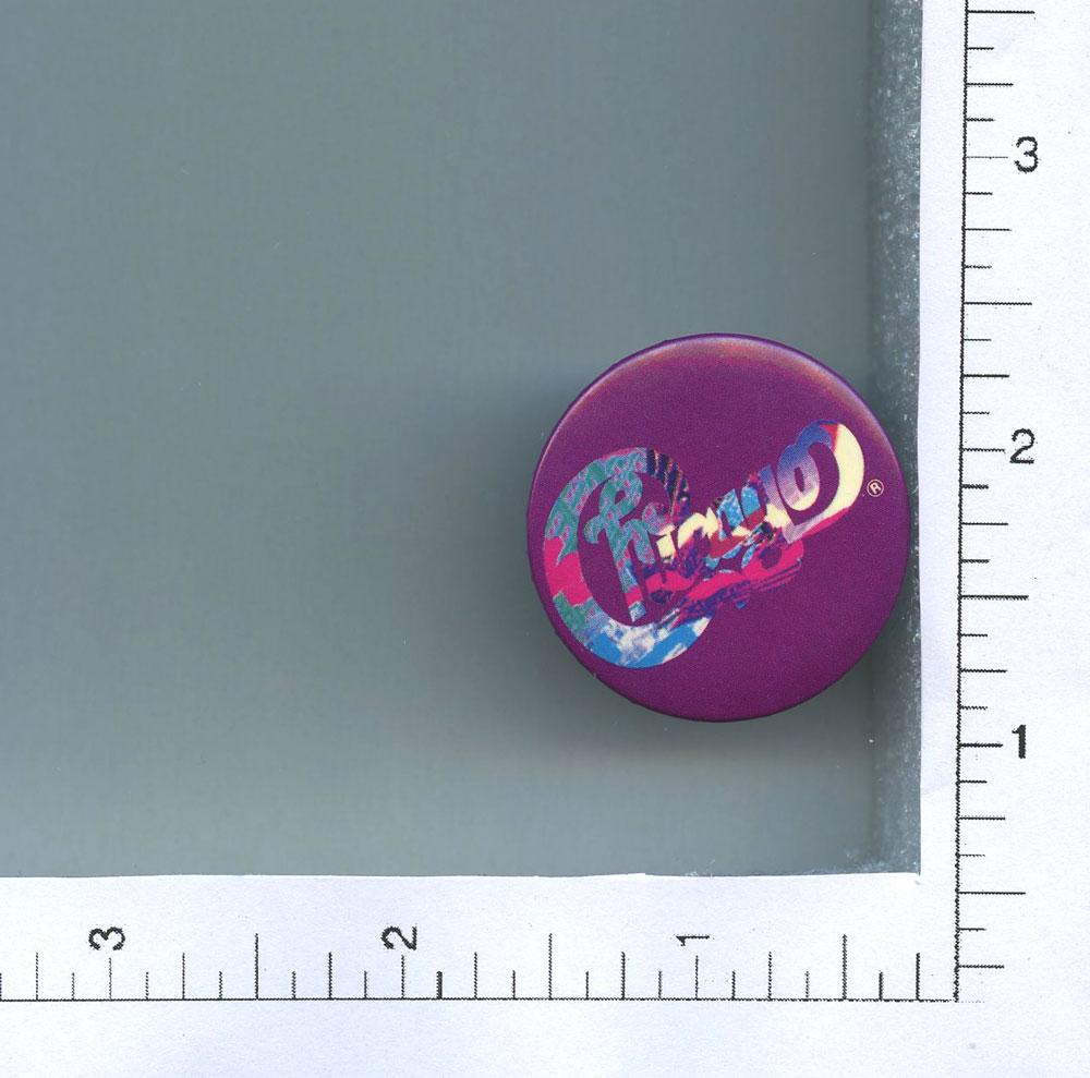 "Chicago Button 2011 World Tour 1 1/2"" diameter"