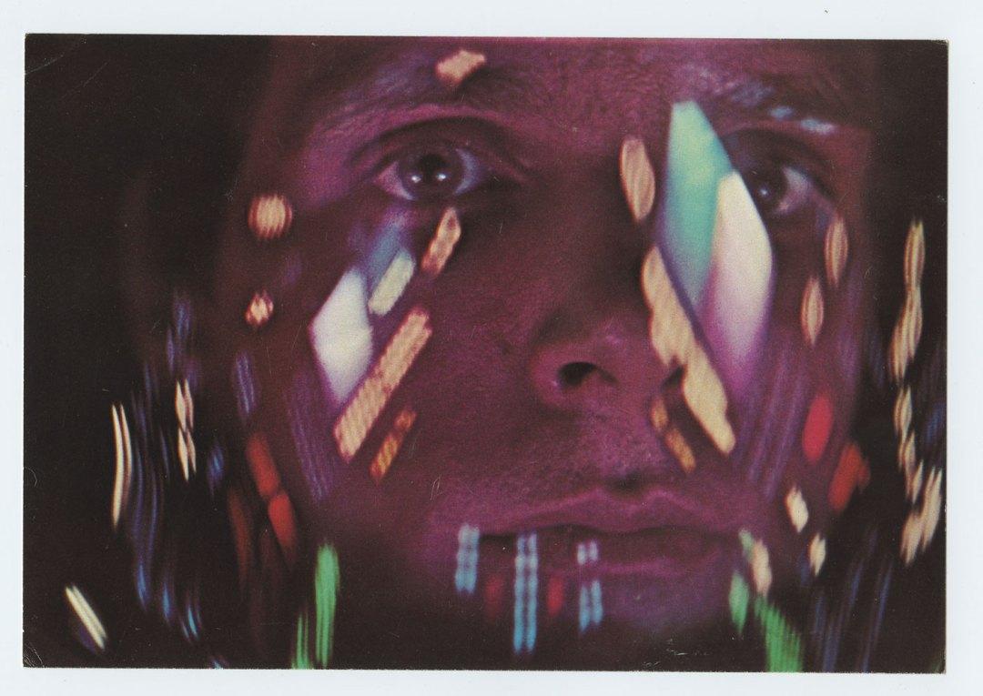 2001: A Space Odyssey Postcard Movie Promotion 1968